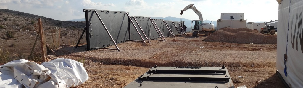 Balpro Protector - Barrier system in use Lebanon